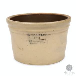 J. A. McHardy, Guelph 1 Gallon Crock