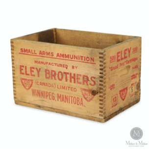 Eley Brothers, Manitoba Ammunition Crate