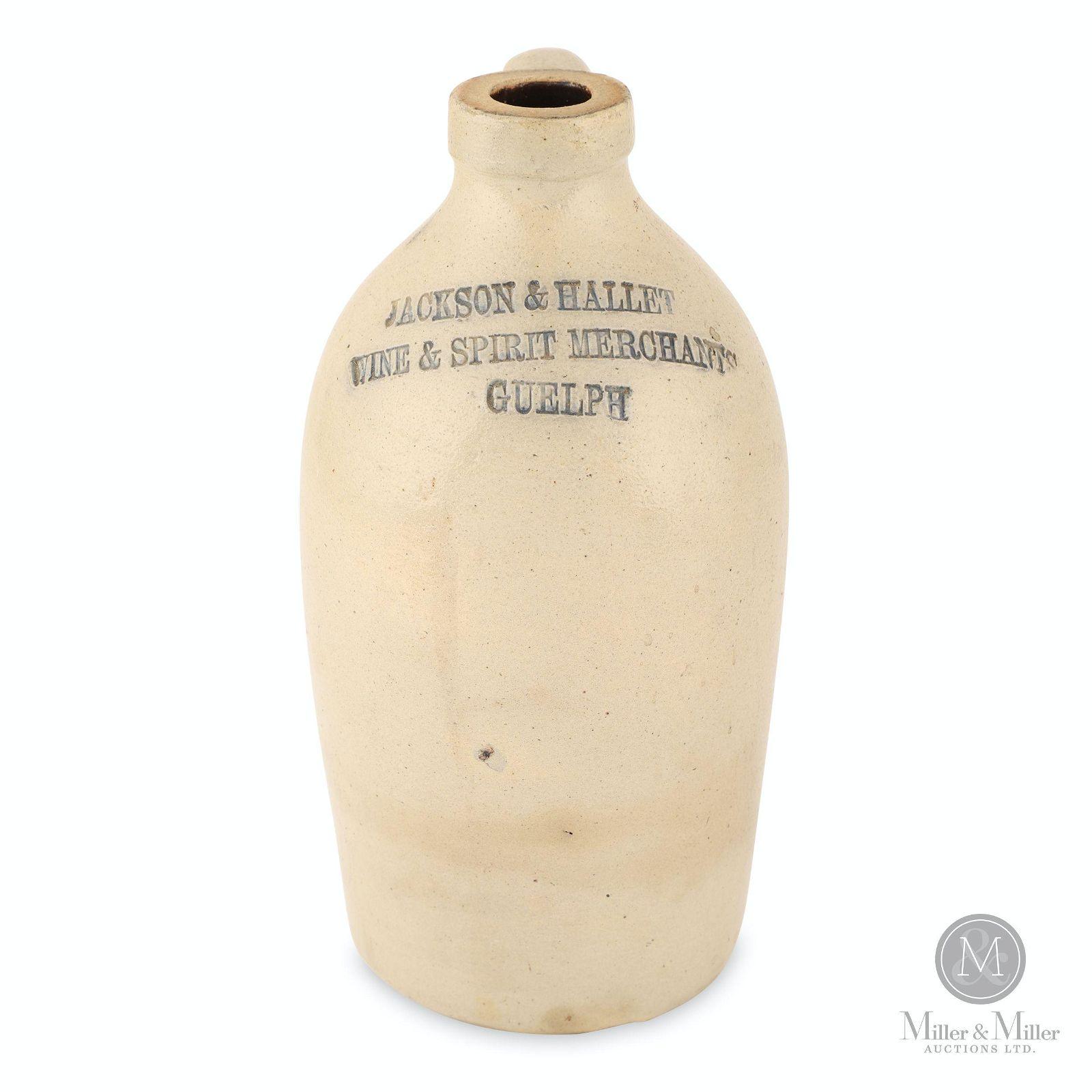 Jackson & Hallett, Guelph 1/4 Gallon Jug