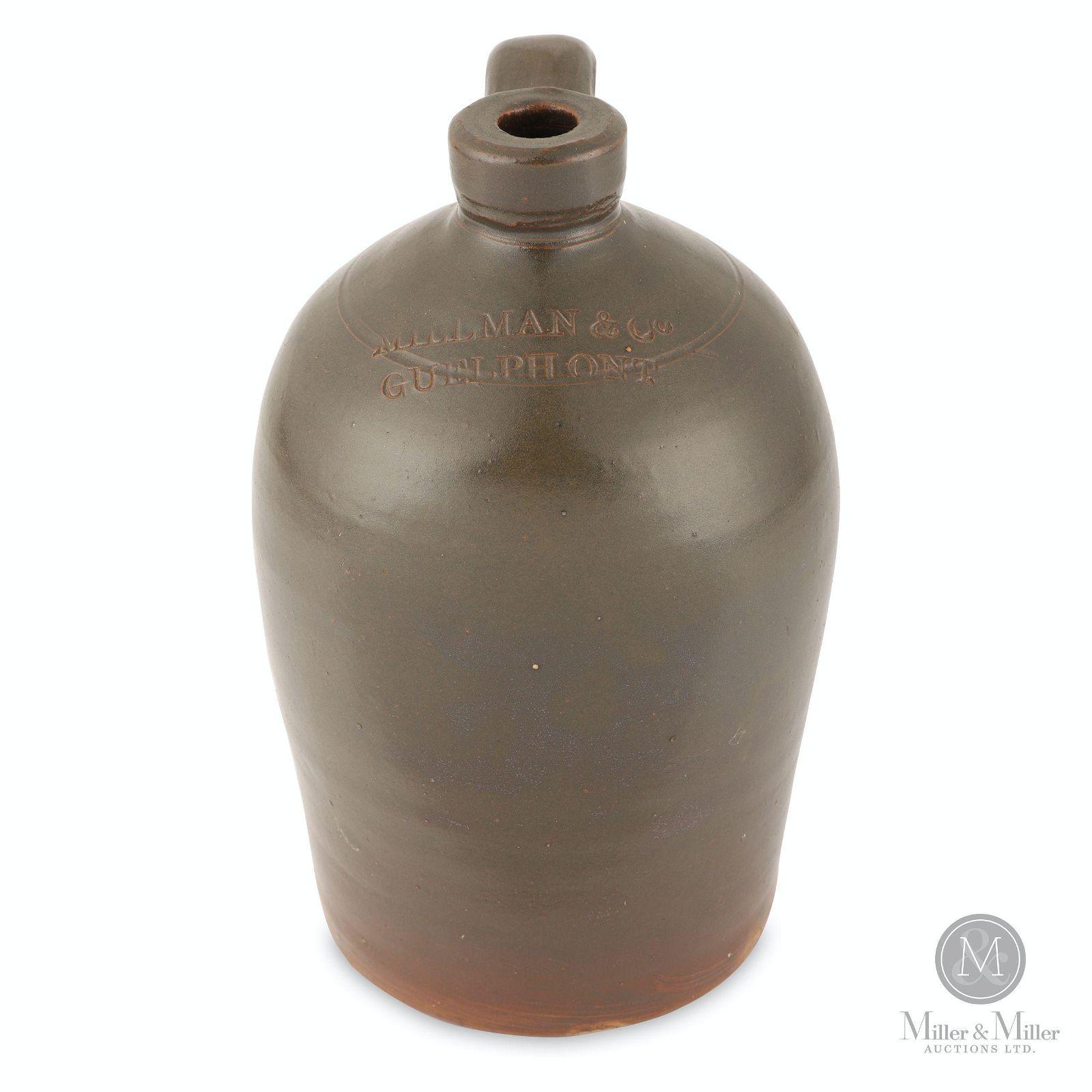 Millman & Co., Guelph 1/2 Gallon Jug