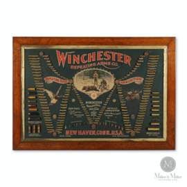 Winchester 1887 Cartridge Display Board
