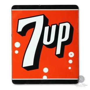 Seven-Up Porcelain Sign