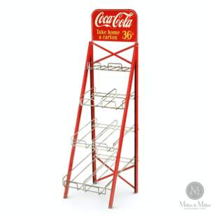 Coca-Cola Store Display Rack