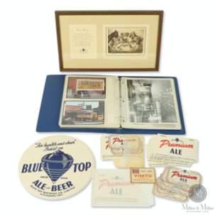 Blue Top Brewery Company Executive Photo Album