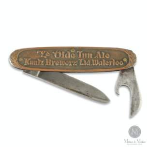 Kuntz Brewery Pocket Knife