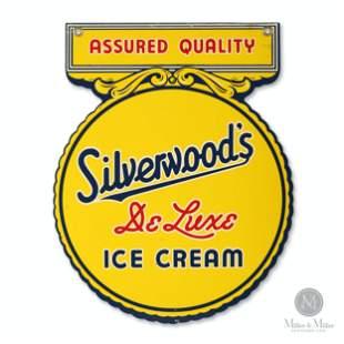 Silverwood's Ice Cream Hanging Sign