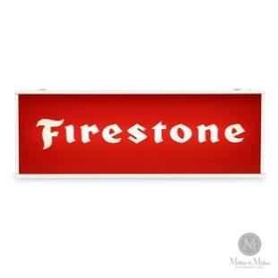 Firestone NOS Backlit Hanging Sign