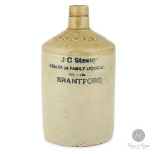J.C. Steele, Brantford 1/4 Gal Jug