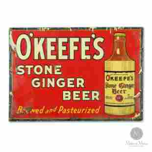 O'Keefe's Stone Ginger Beer Sign
