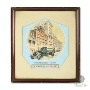 Imperial Oil Co. Original Calendar Illustration Artwork