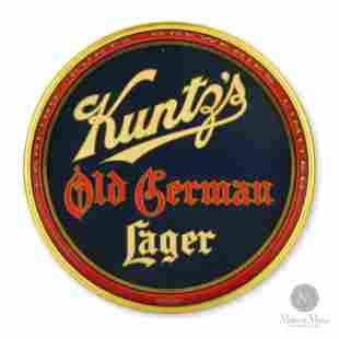 Carling-Kuntz Old German Lager Beer Tray