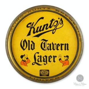 Kuntz Brewery Old Tavern Lager Beer Tray