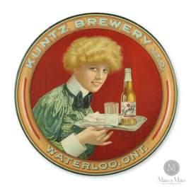 Kuntz Brewery Bologna Girl Beer Tray