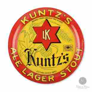 Kuntz's Ale Lager Stout Tip Tray