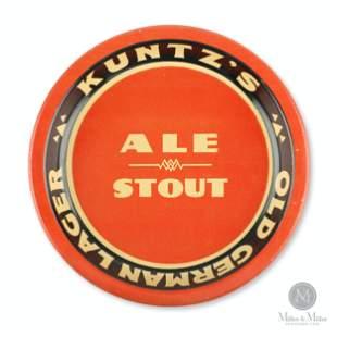 Kuntz's Old German Lager Tip Tray