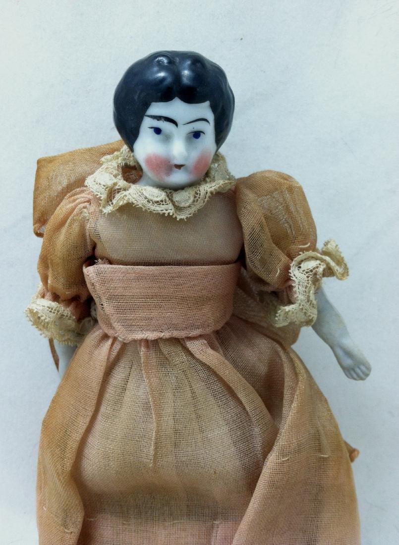 Antique China head doll - 2