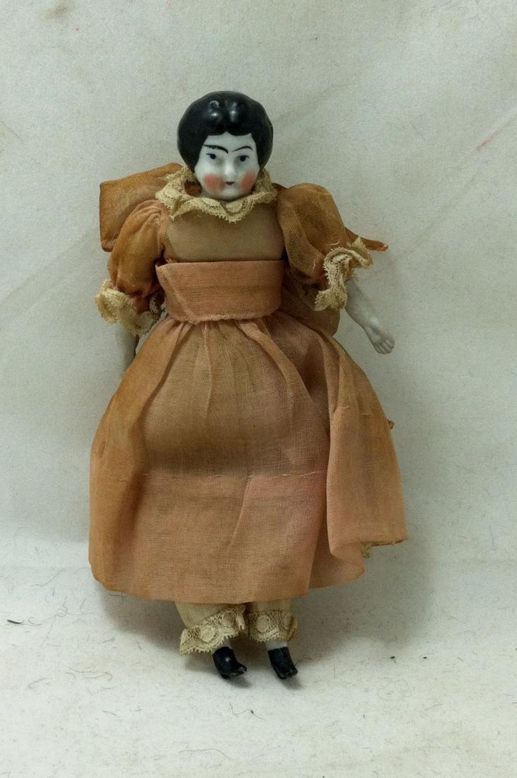 Antique China head doll - 4