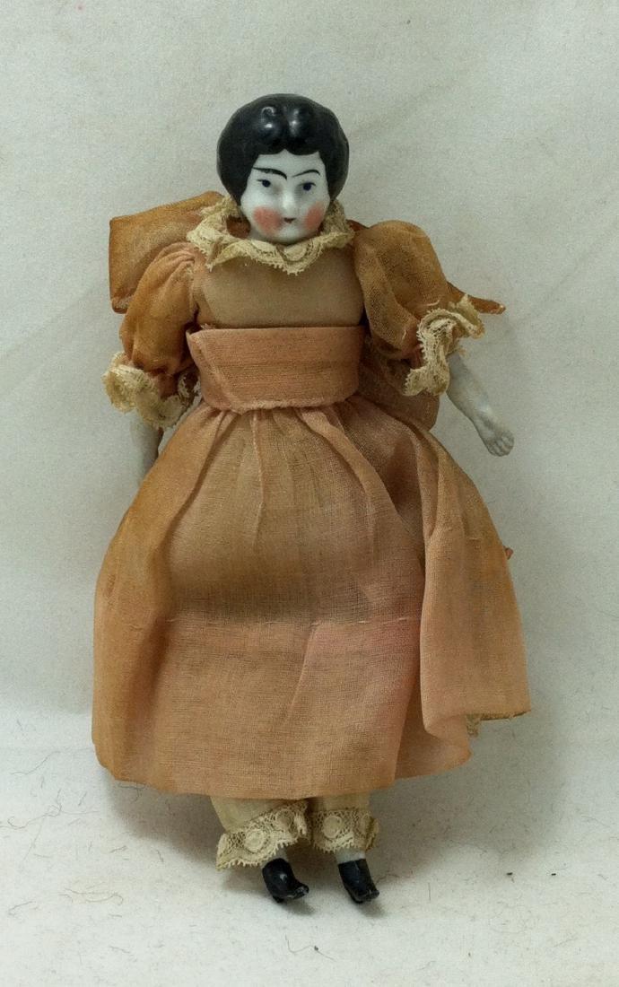 Antique China head doll - 5