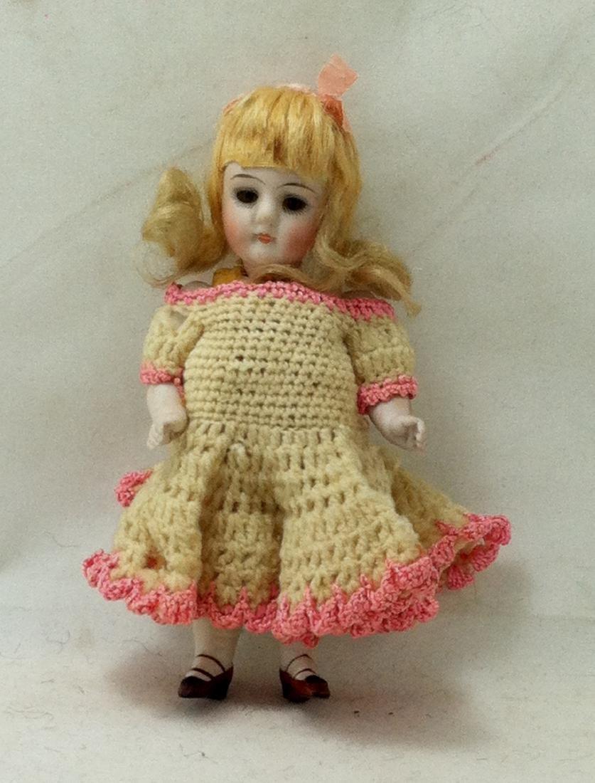 Bisque Doll w Bisque Body