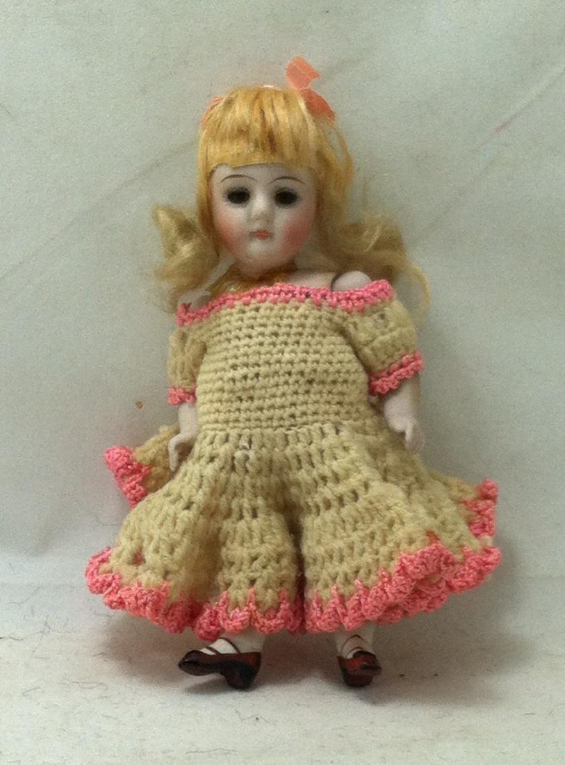 Bisque Doll w Bisque Body - 4
