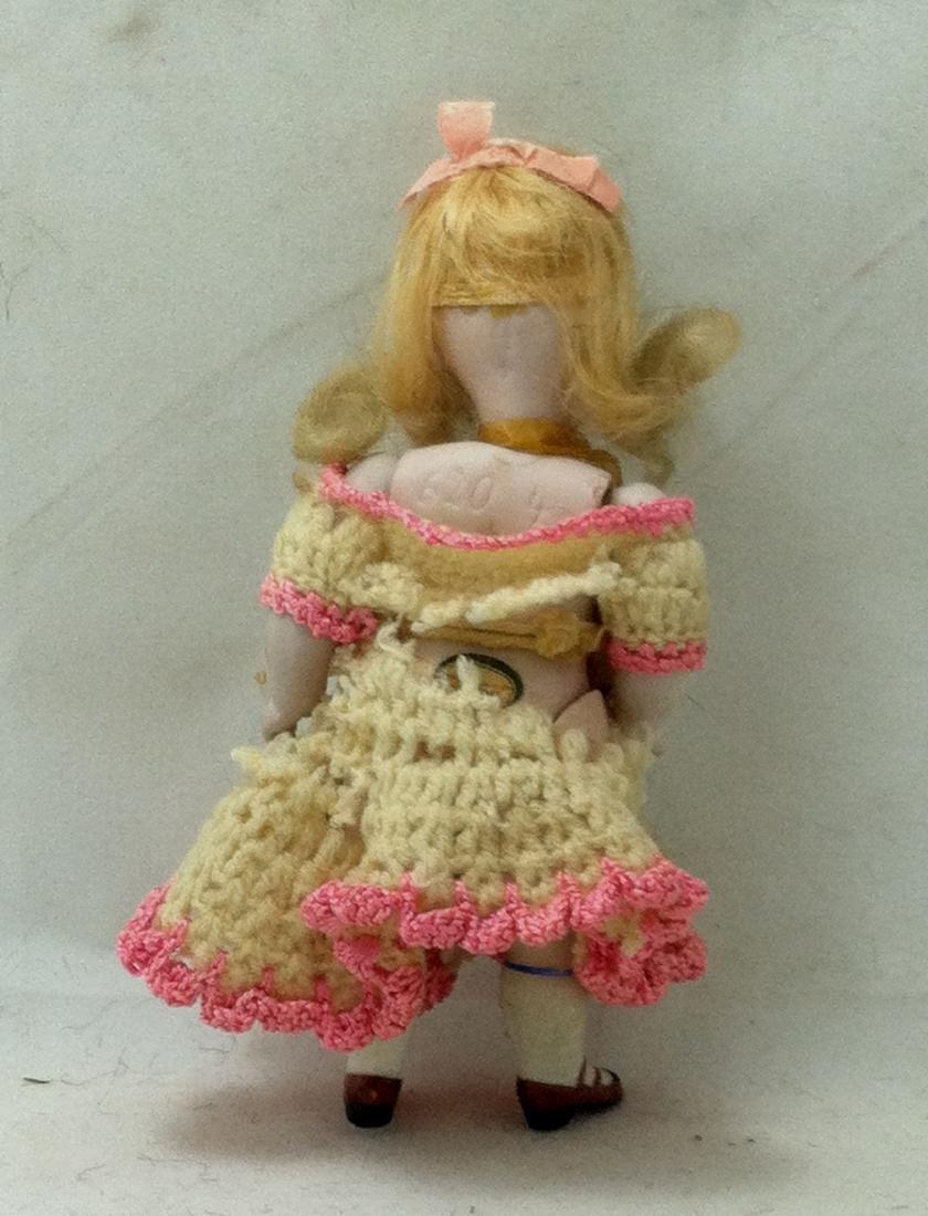 Bisque Doll w Bisque Body - 5