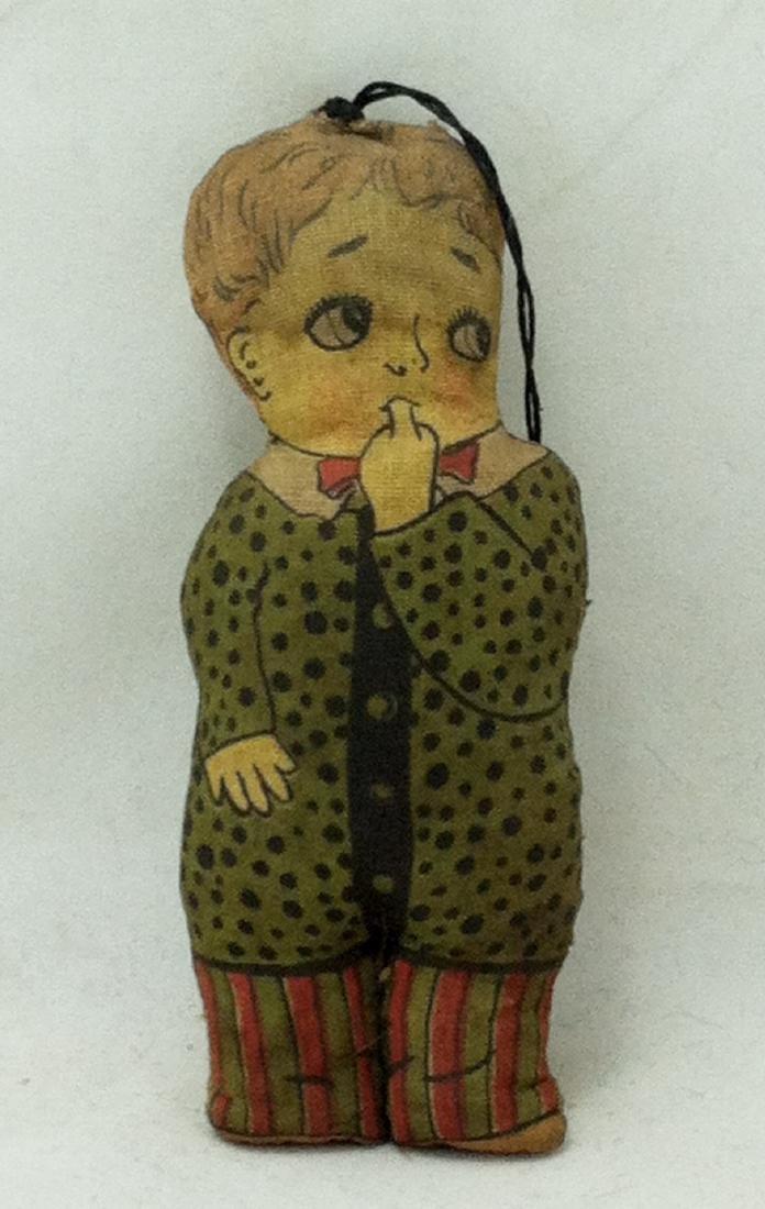 20's Cloth Body Boy Doll Cartoon Character?