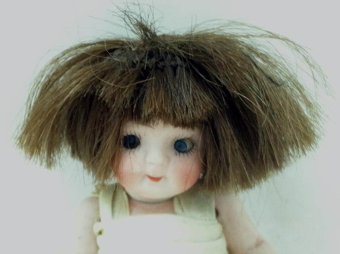 All Bisque Girl Doll - 2