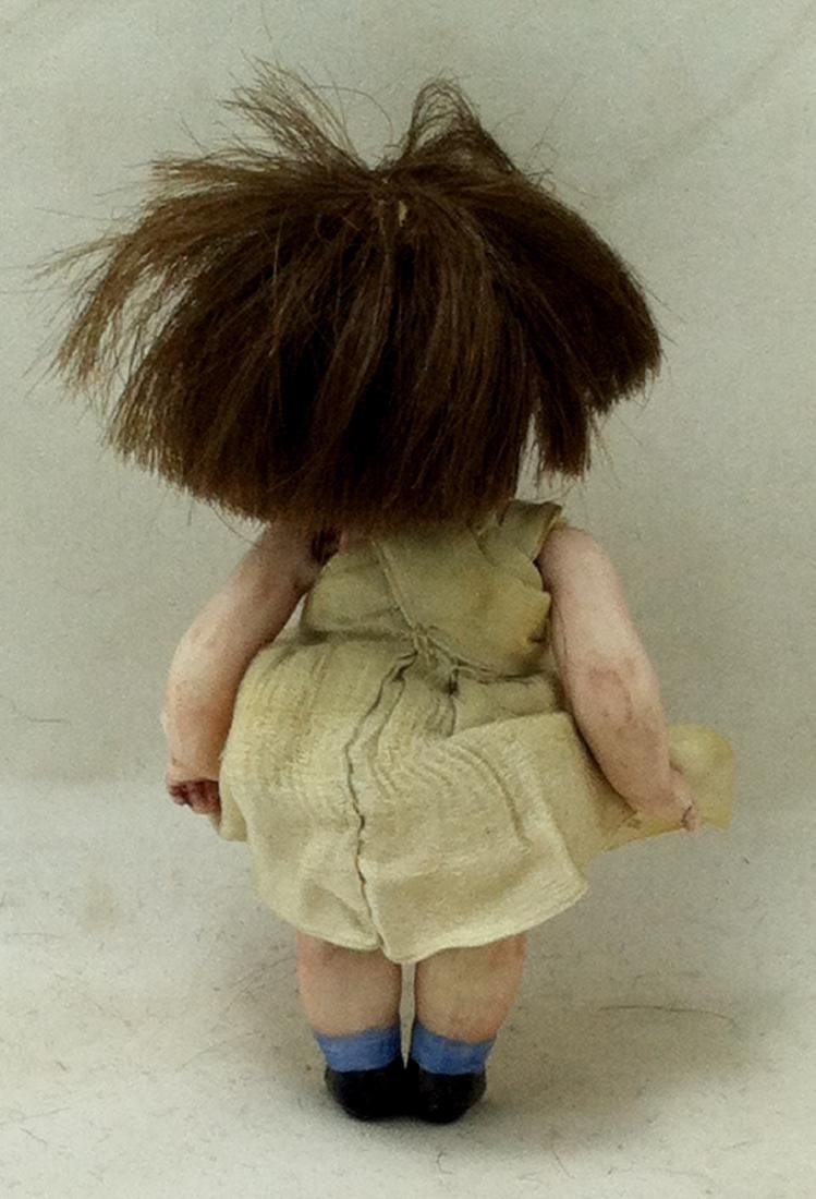All Bisque Girl Doll - 3