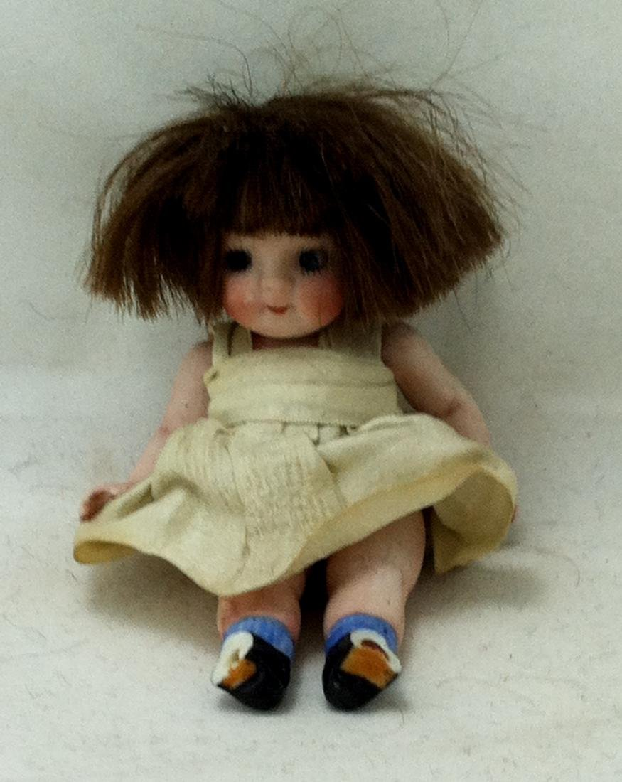 All Bisque Girl Doll - 4