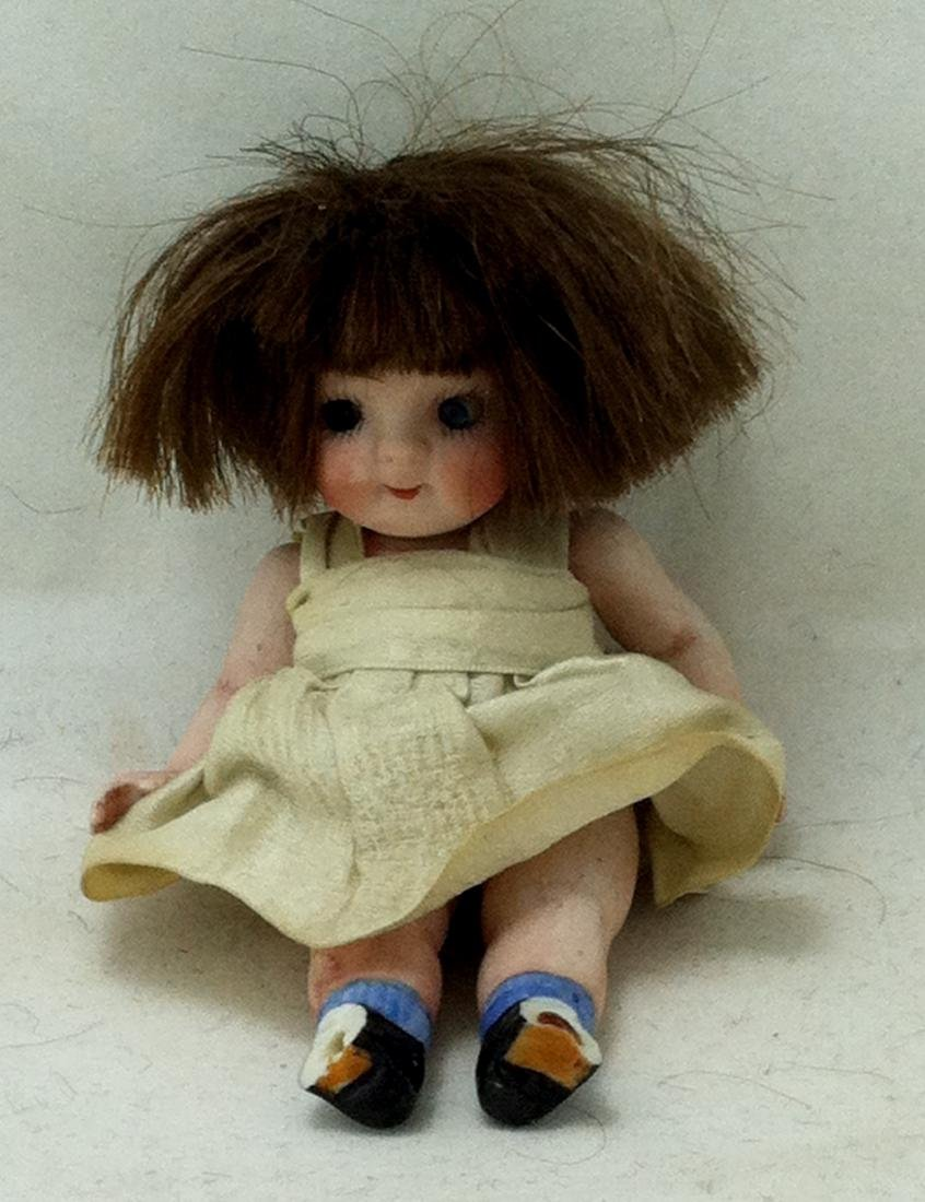 All Bisque Girl Doll - 5