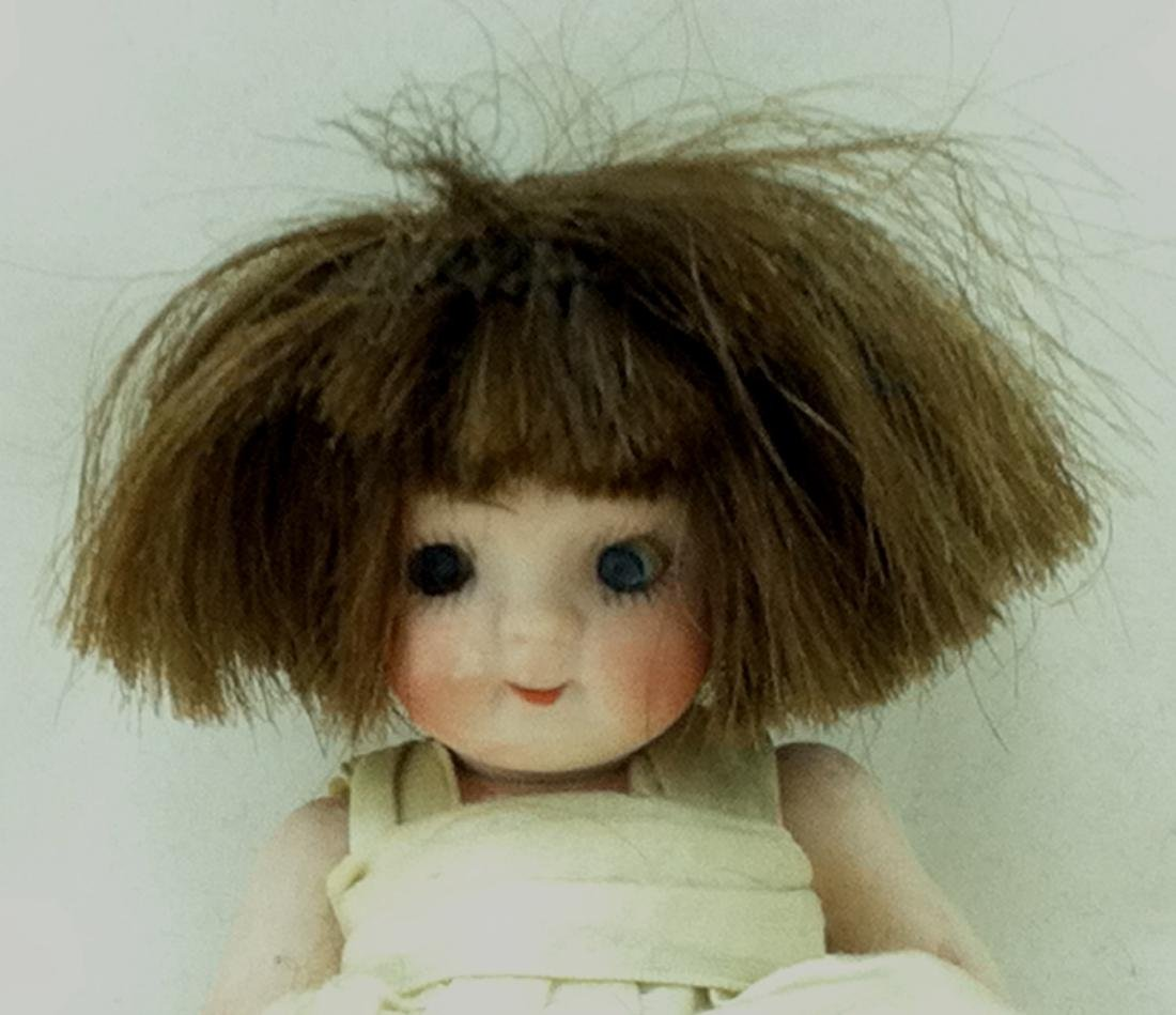 All Bisque Girl Doll - 6