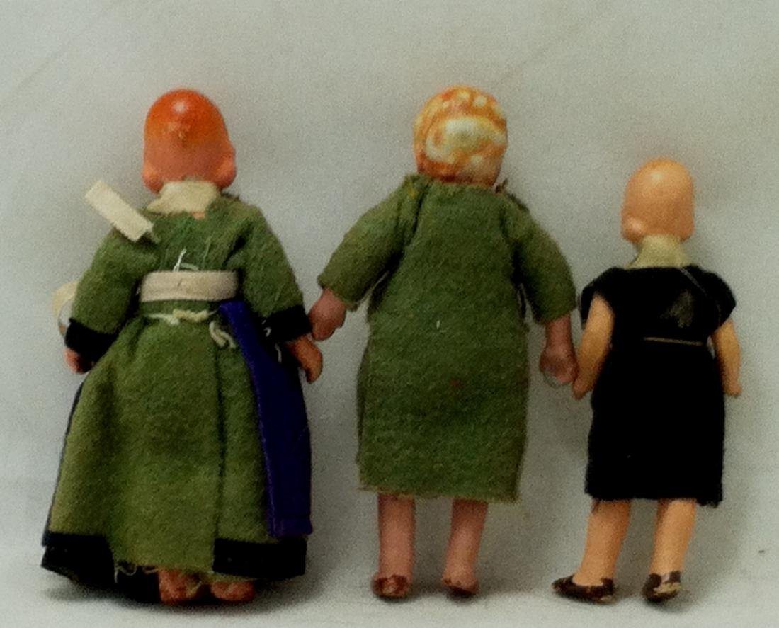 3pc. Lot 1 Boy & 2 Girls 1930's