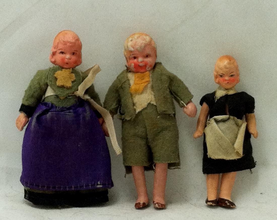 3pc. Lot 1 Boy & 2 Girls 1930's - 3
