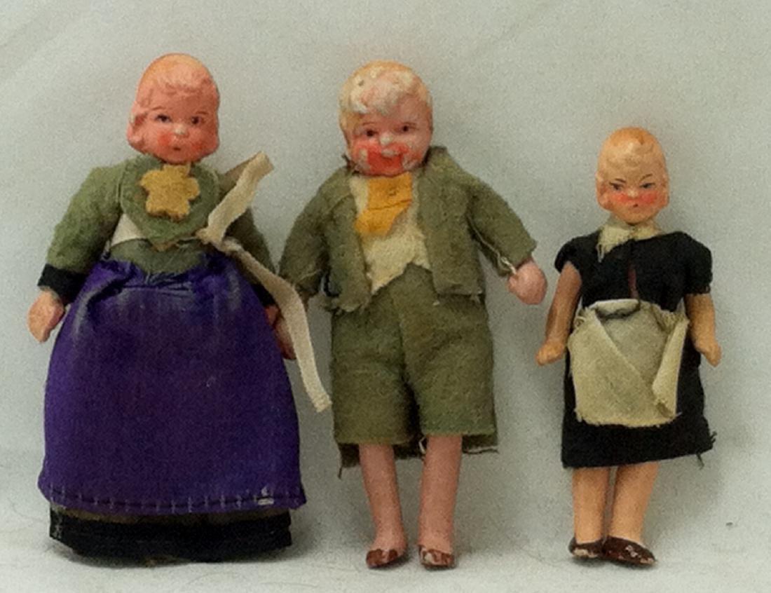 3pc. Lot 1 Boy & 2 Girls 1930's - 4