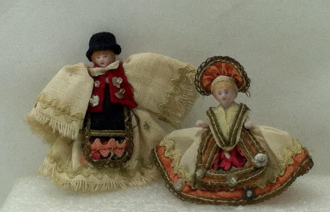 Pr. Bisque Hungarian Costume Dolls