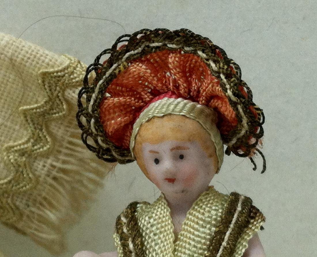 Pr. Bisque Hungarian Costume Dolls - 4