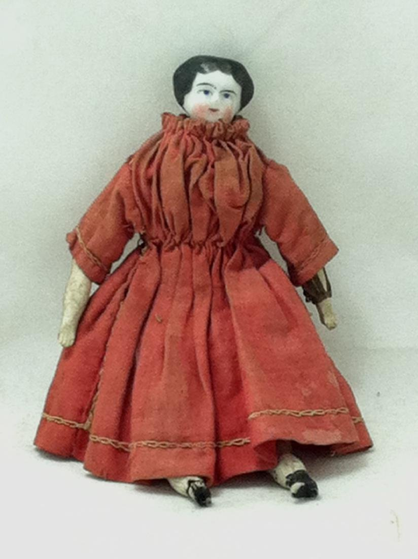 Hand Painted China Head Doll