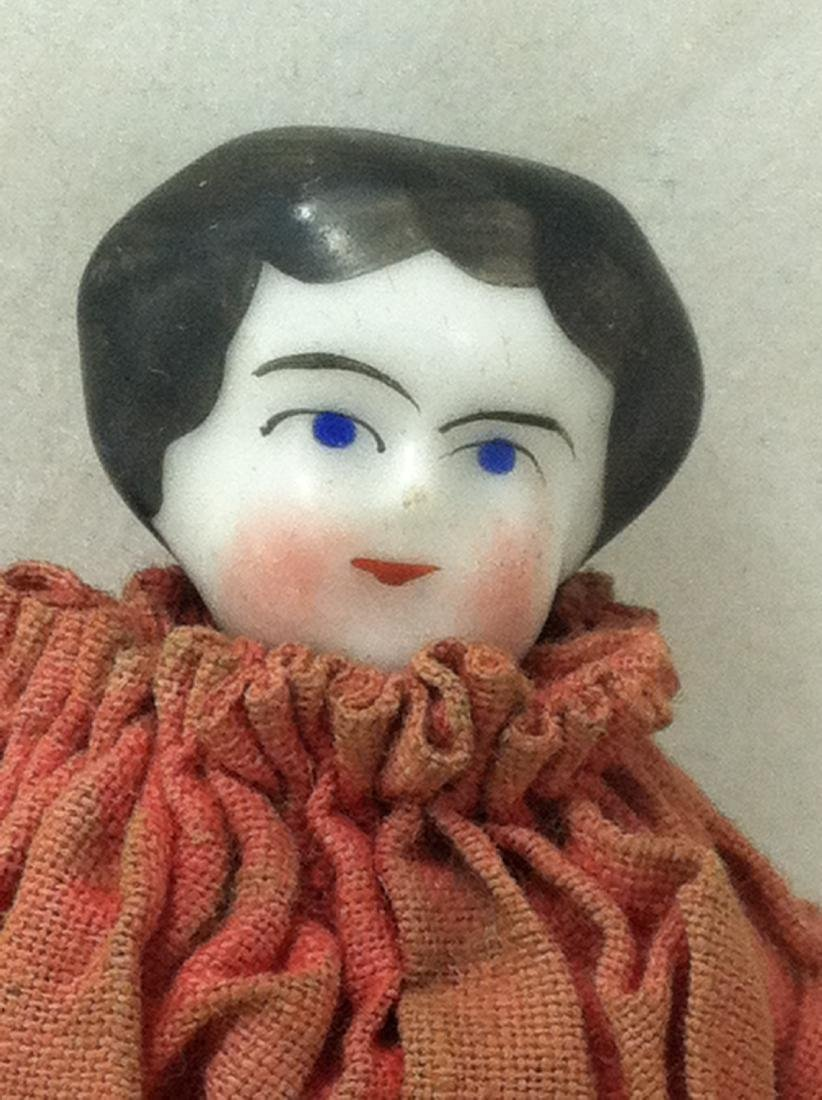 Hand Painted China Head Doll - 2