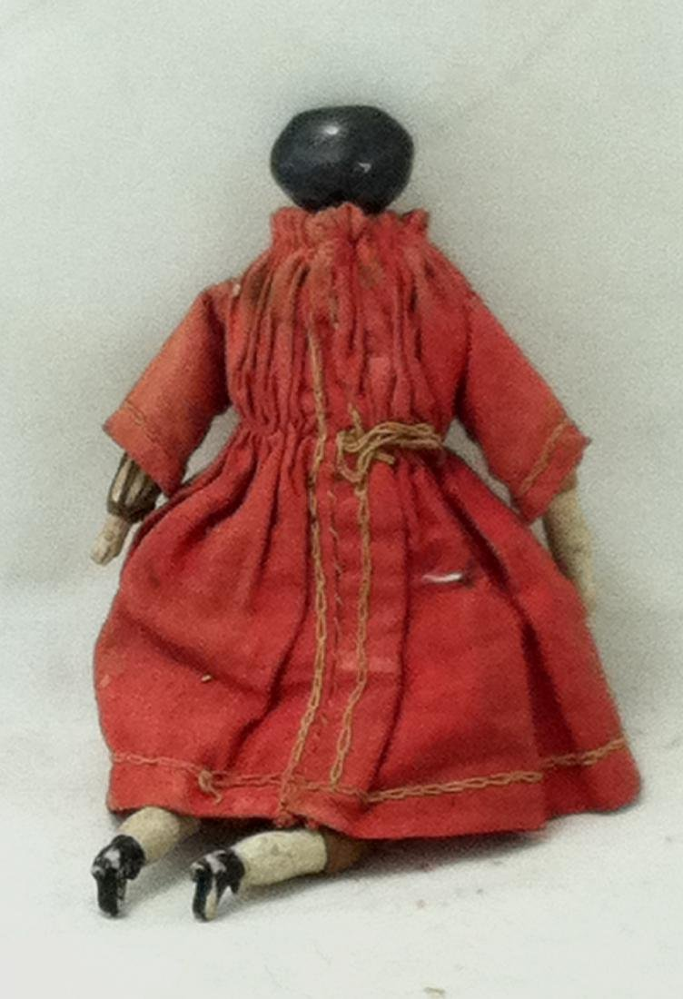 Hand Painted China Head Doll - 4