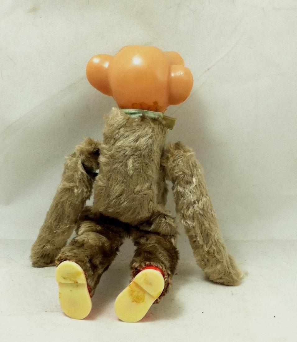 Vintage WindUp Celluloid Flipper Monkey - 3