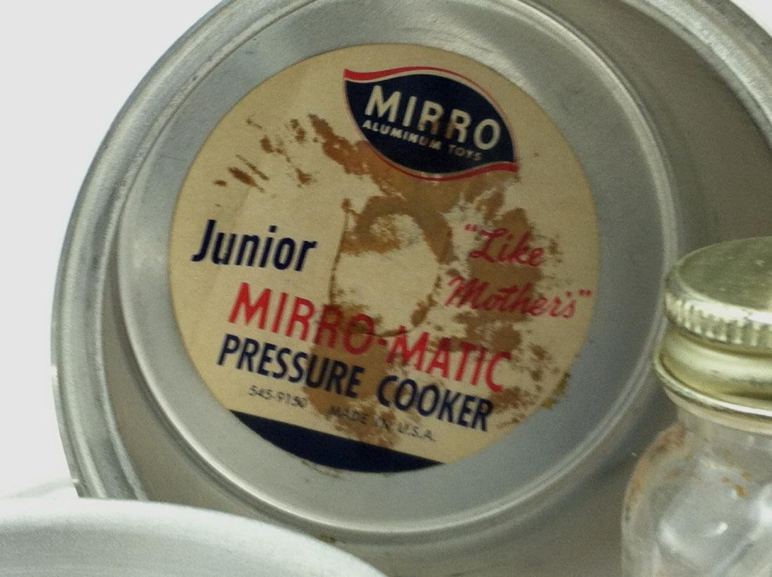"10 Pc Lot Mini ""Mirro Jr.""Cooking Set - 2"