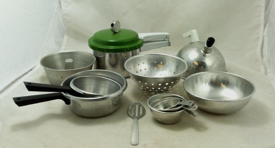 "10 Pc Lot Mini ""Mirro Jr.""Cooking Set - 3"