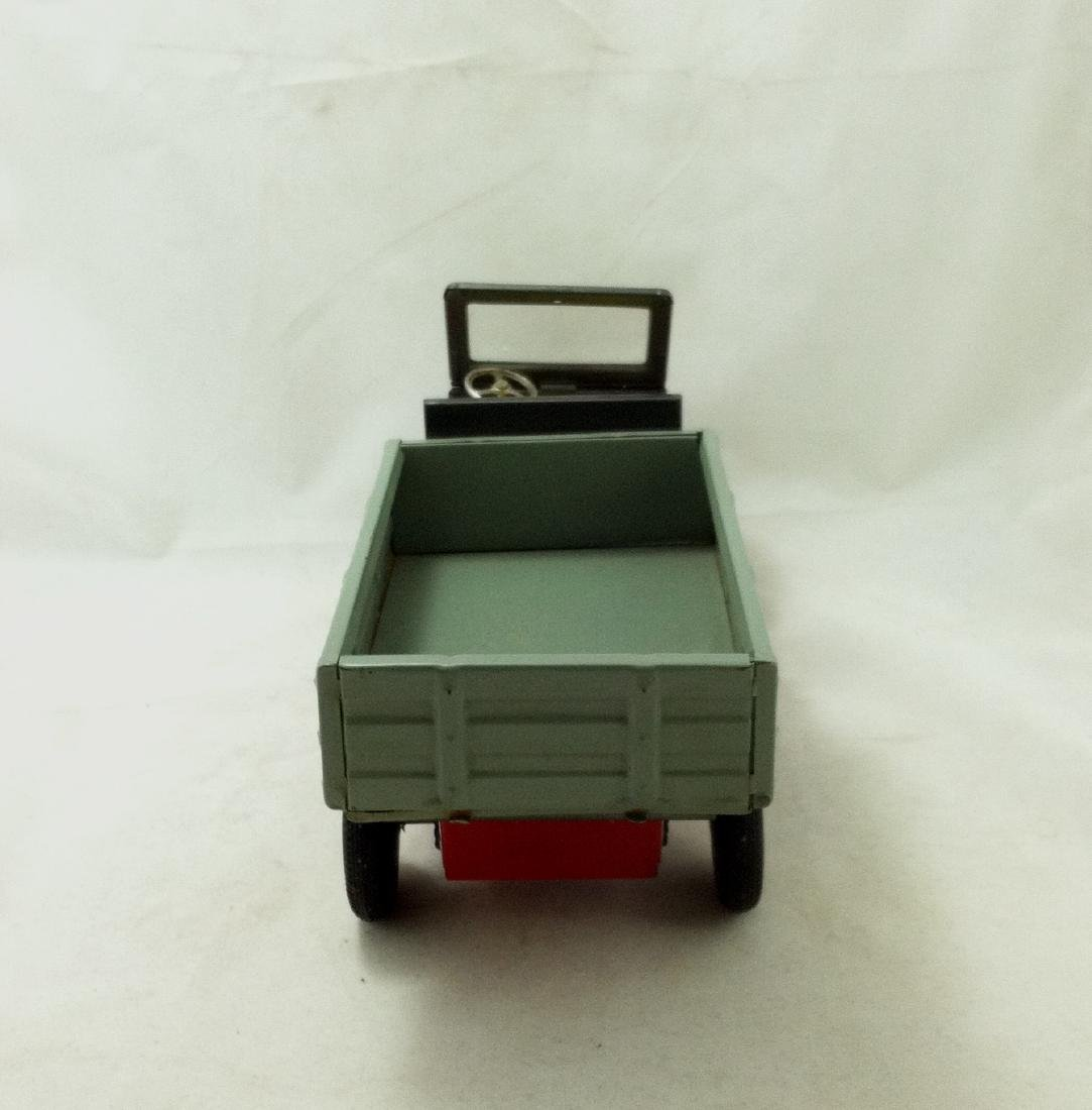 Vtg Big Metal Friction Open Bed Truck Japan - 5