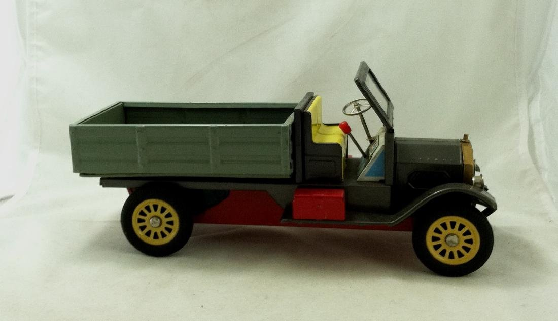 Vtg Big Metal Friction Open Bed Truck Japan - 8
