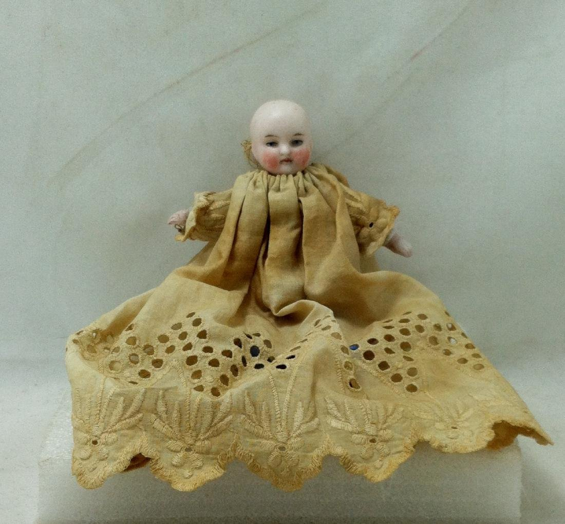 Antique German Baby Doll w/Christening Dress