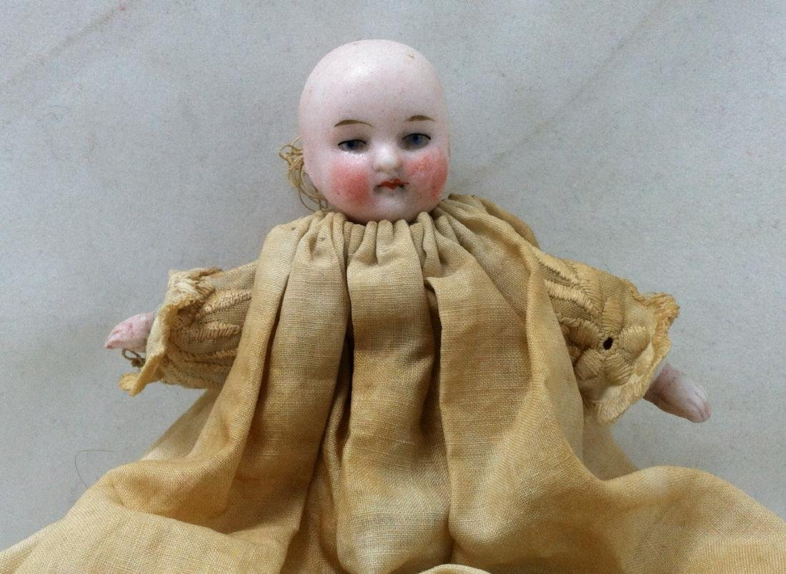 Antique German Baby Doll w/Christening Dress - 2