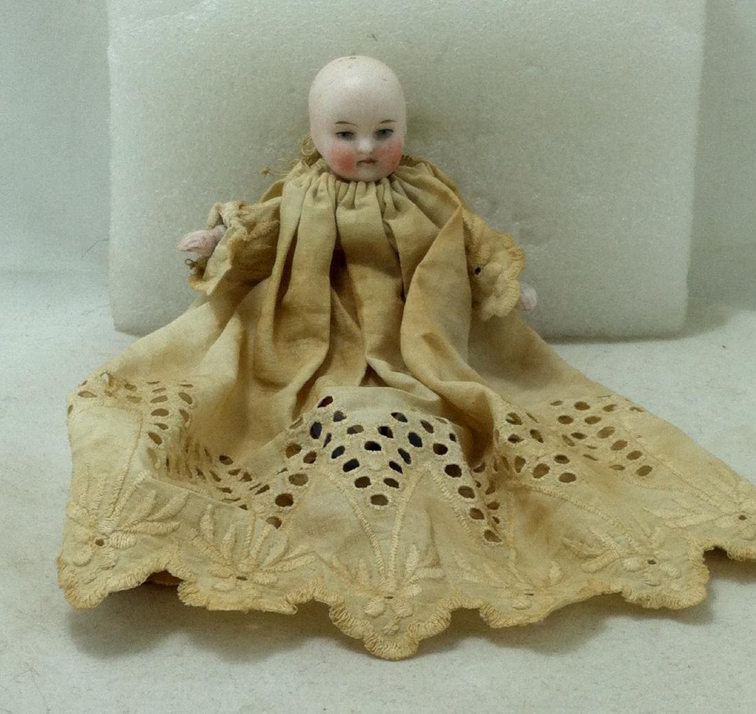 Antique German Baby Doll w/Christening Dress - 7