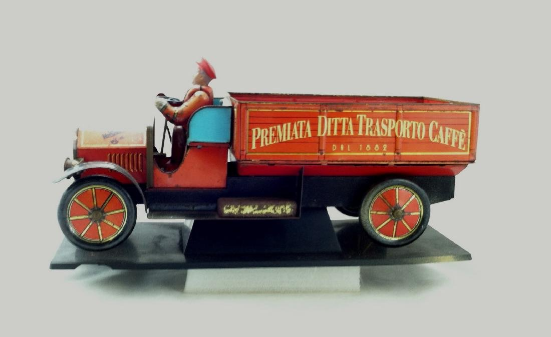 Tin Litho'd Delivery Truck Advertising