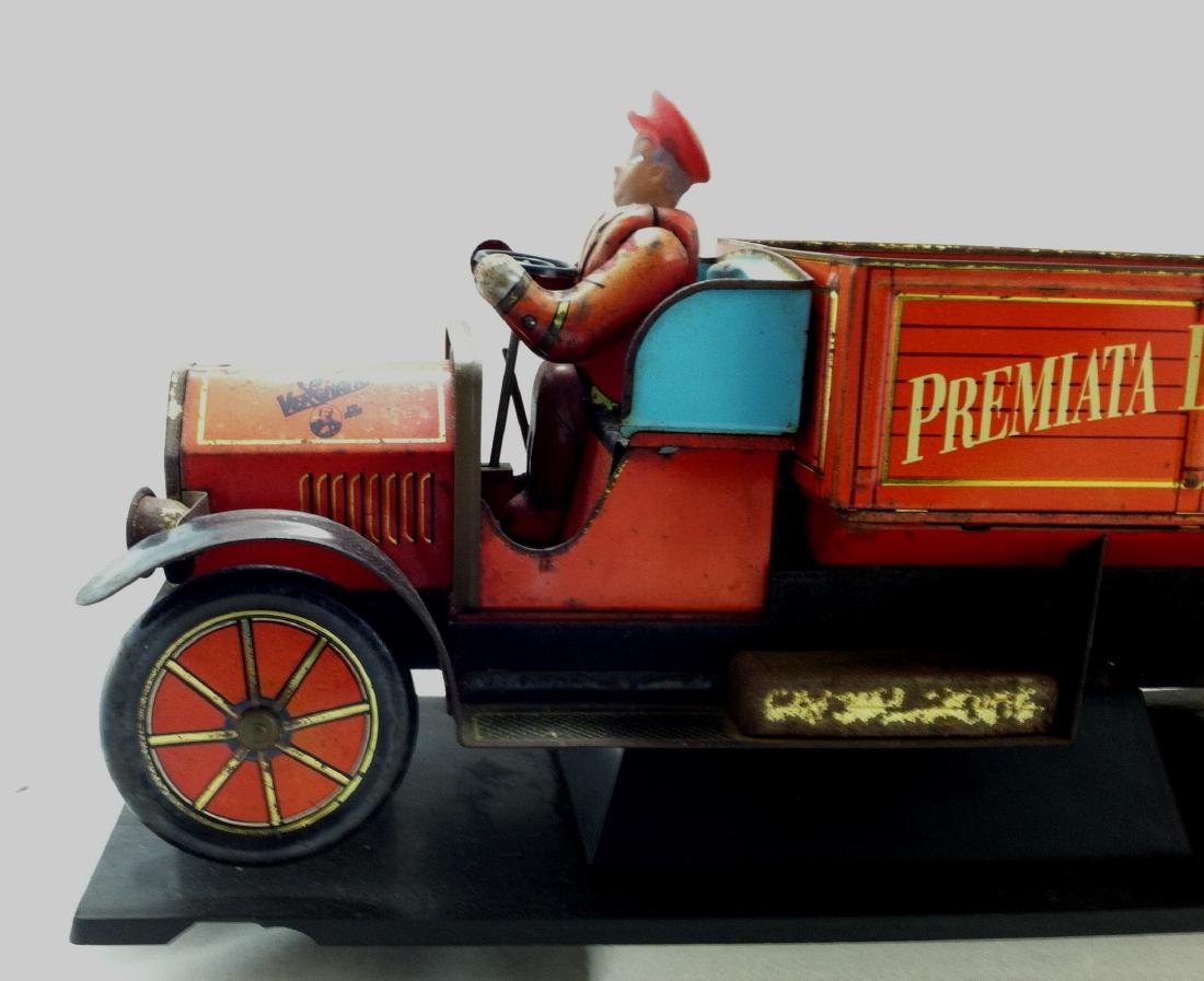 Tin Litho'd Delivery Truck Advertising - 2