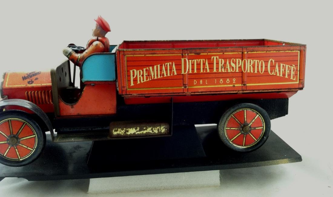 Tin Litho'd Delivery Truck Advertising - 3